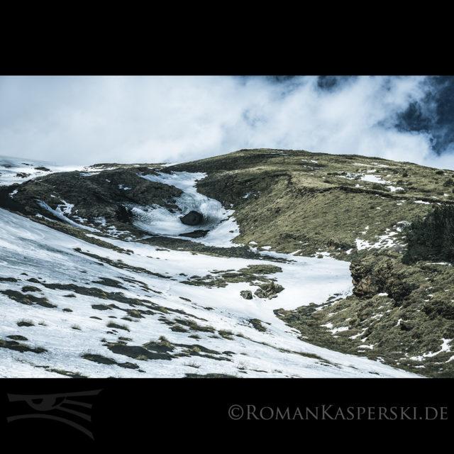 Vulkan Schnee Snow Mountain Berg Sizilien Italy Outdoor Climbing