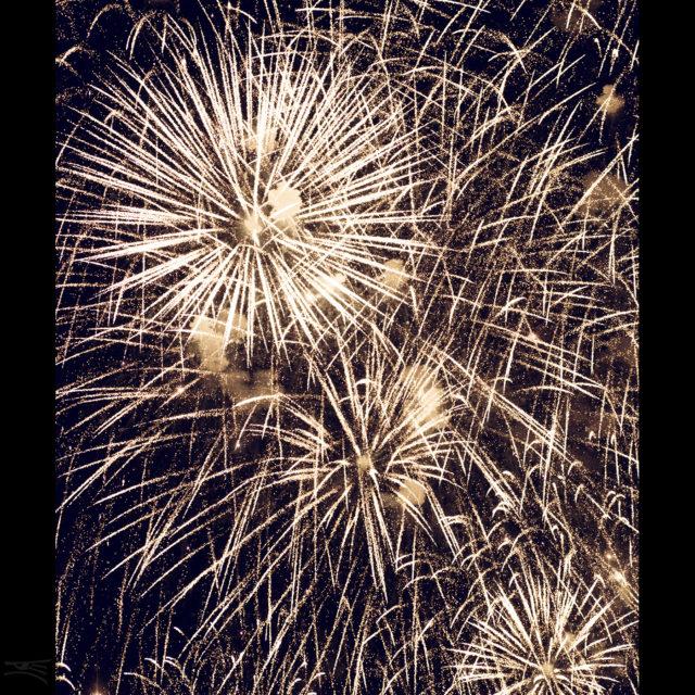 Düsseldorf Japan Tag Feuerwerk