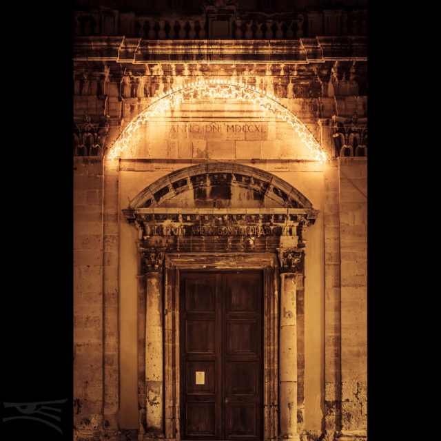 Licht Sizilien Kirche