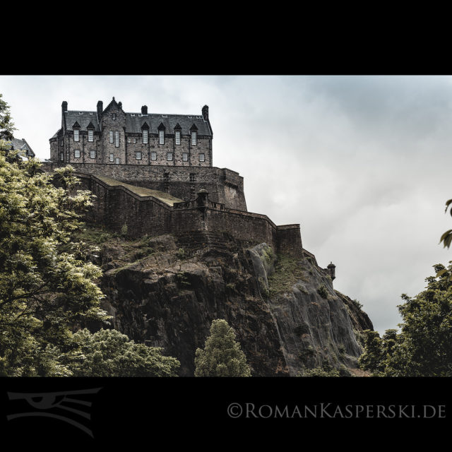 Edinburgh, Burg, Castle, City, Scottland, Schottland, UK