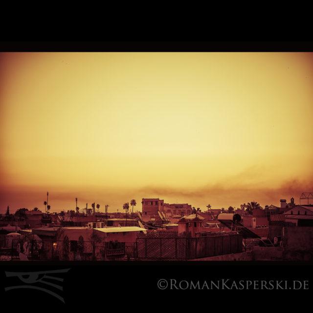 Istanbul, Turkey, Sundset, Orange, Cityscape